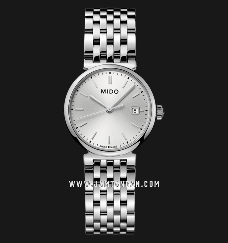 Mido M033.210.11.031.00 Dorada Silver Dial Stainless Steel Strap Machtwatch