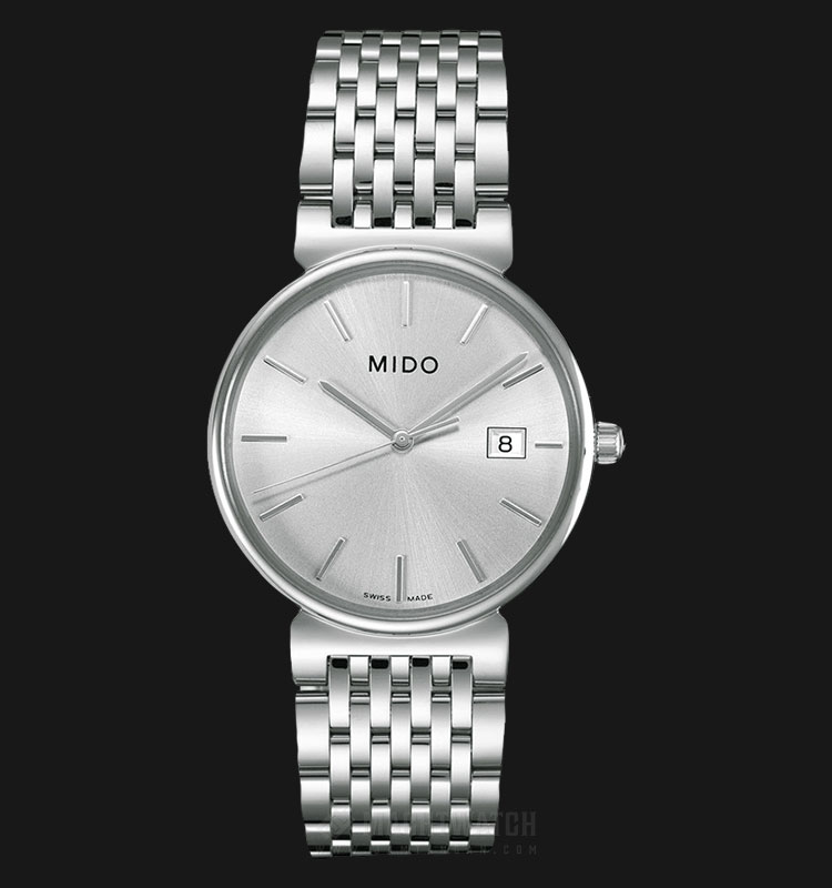 Mido M1130.4.13.1 Dorada Silver Dial Stainless Steel Strap Machtwatch