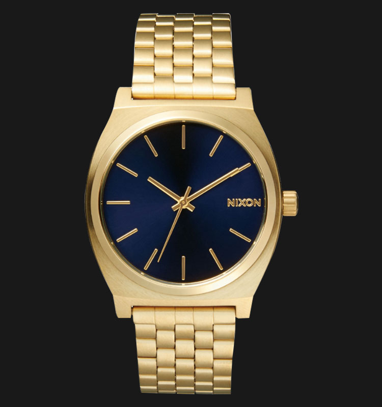 NIXON A0451931Time Teller All Light Gold Cobalt Machtwatch