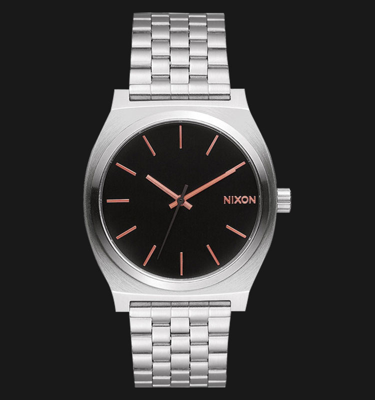 NIXON A0452064 Time Teller Gray Rose Gold Machtwatch