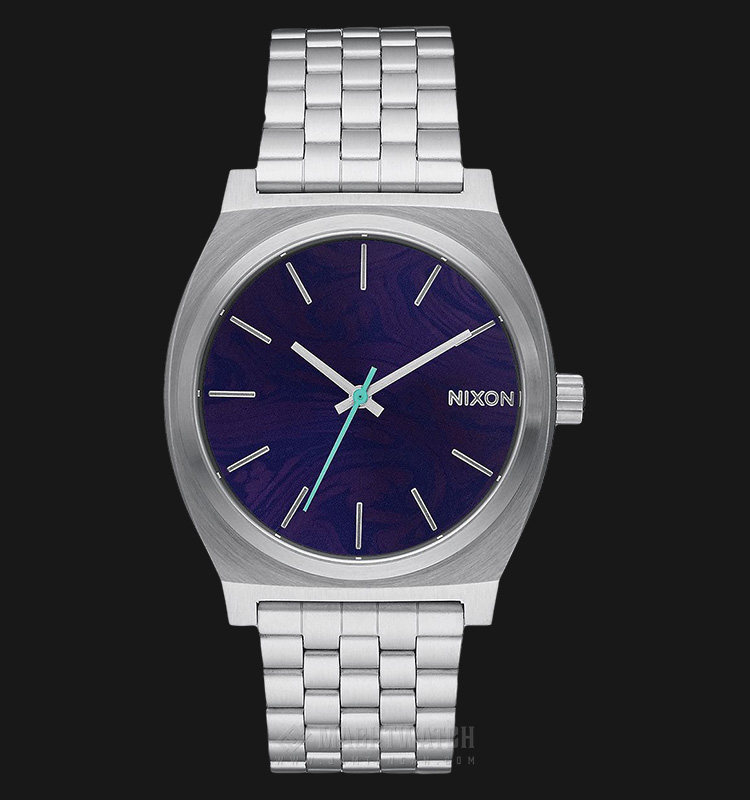 NIXON A045230 Time Teller Blue Dial Stainless Steel Machtwatch