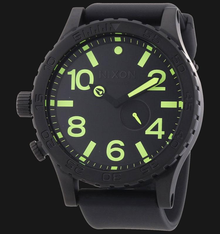 NIXON A0581256 51-30 PU All Black Lum Machtwatch