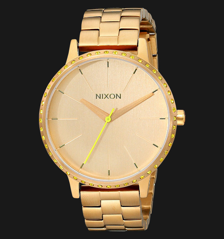 NIXON A0991900 Kensington All Gold Neon Yellow Machtwatch