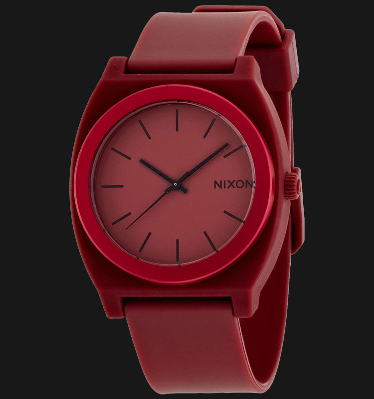 NIXON A1191298 Time Teller P Dark Red Ano Machtwatch