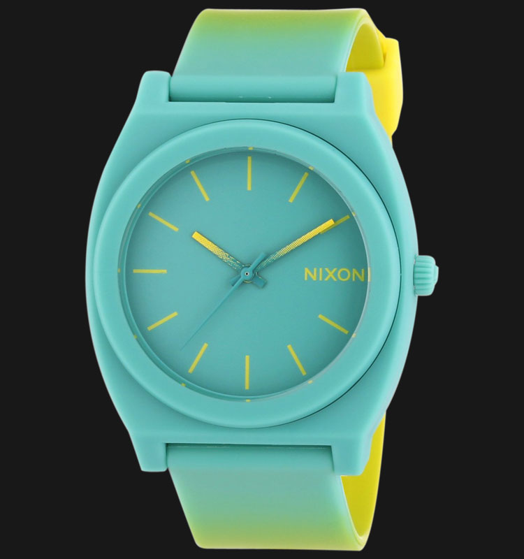 NIXON A1191385 Time Teller P Yellow/Teal Fade Machtwatch