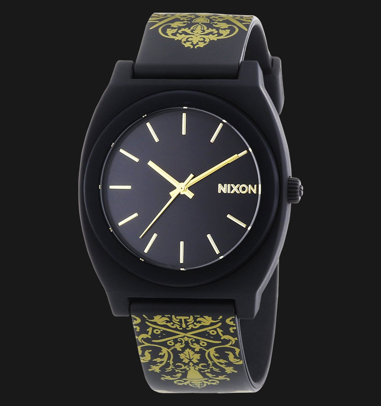 NIXON A1191881 Time Teller P Black Gold Ornate Machtwatch
