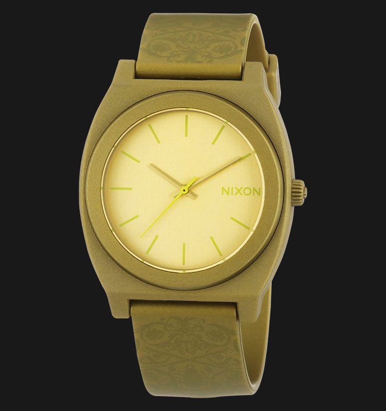 NIXON A1191897 Time Teller P Metalic Gold Beetlepoint Machtwatch