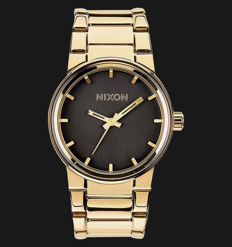 NIXON A160510 Cannon All Gold Black Machtwatch