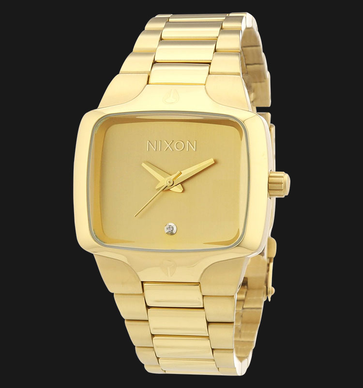 NIXON A300511 Small Player All Gold Machtwatch