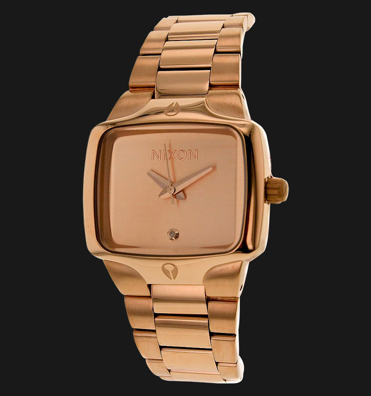 NIXON A300897 Small Player All Rose Gold Machtwatch