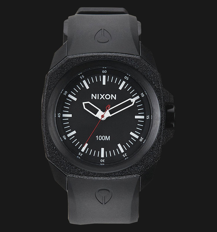 NIXON A349001 Ruckus All Black Machtwatch