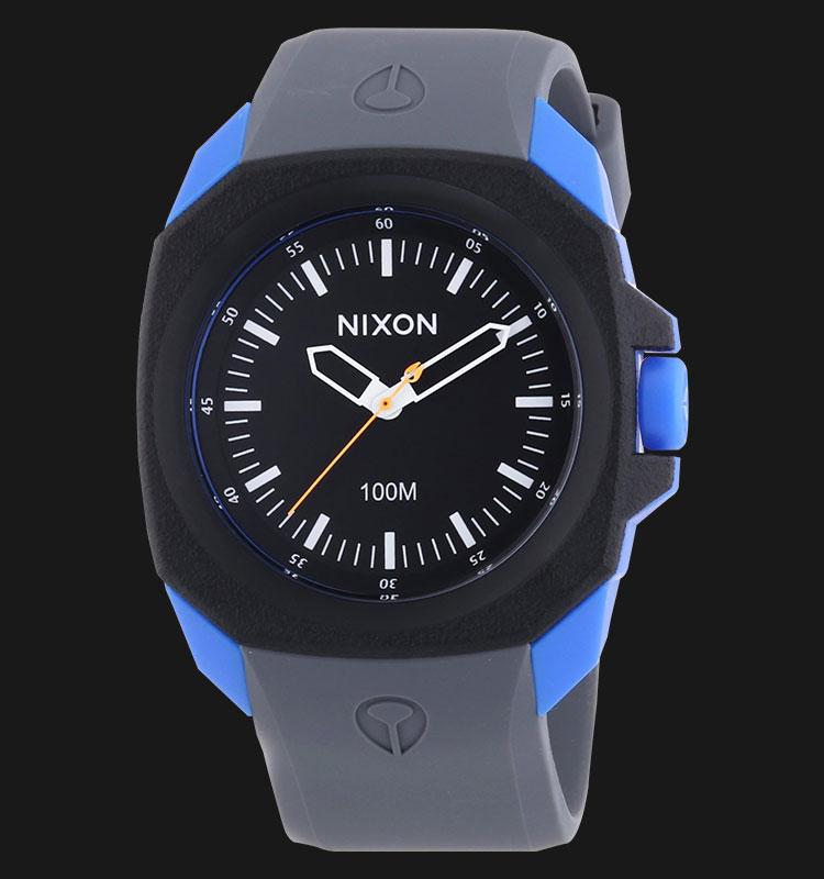 NIXON A3491537 Ruckus Black Sapphire Gray Machtwatch