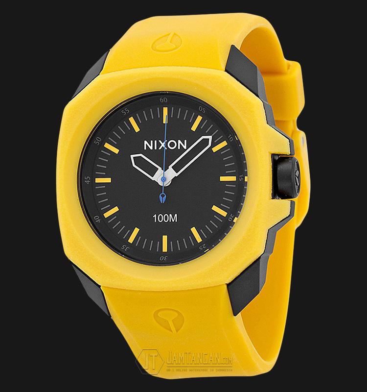NIXON A349887 Ruckus Black Yellow Machtwatch