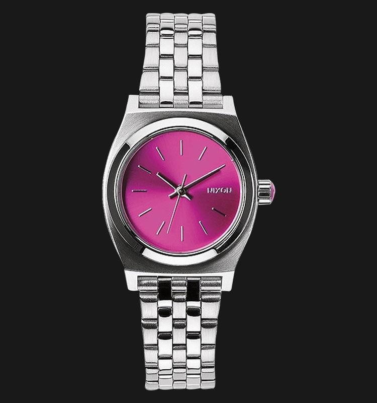 NIXON A3991972 Small Time Teller Pink Sunray-B4BC Machtwatch