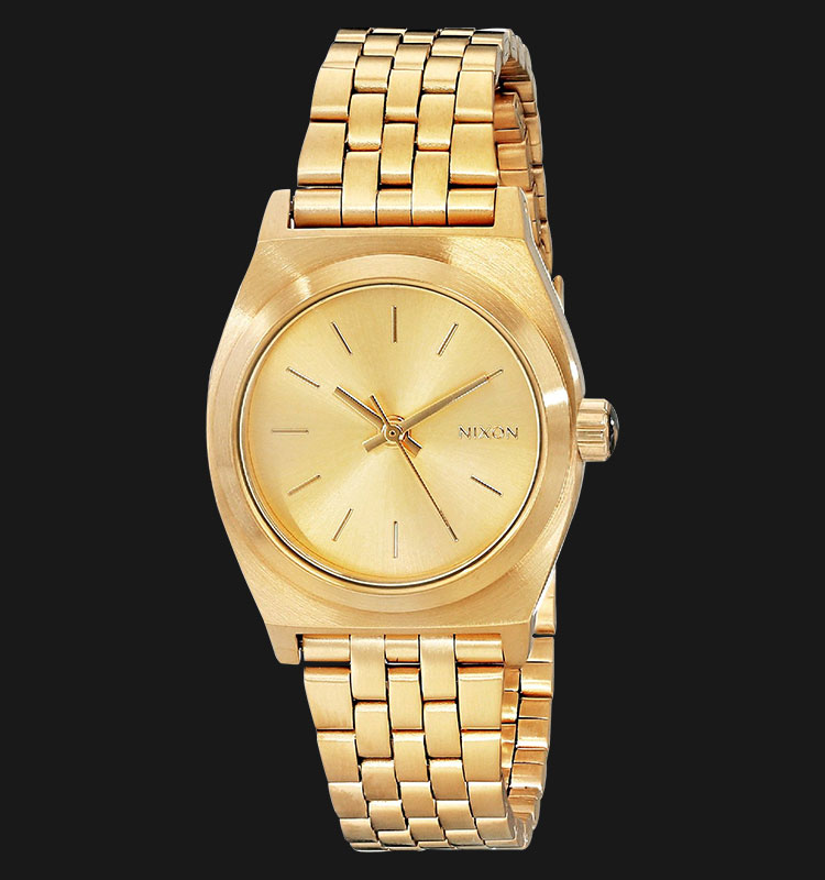 NIXON A399502 Small Time Teller All Gold Machtwatch