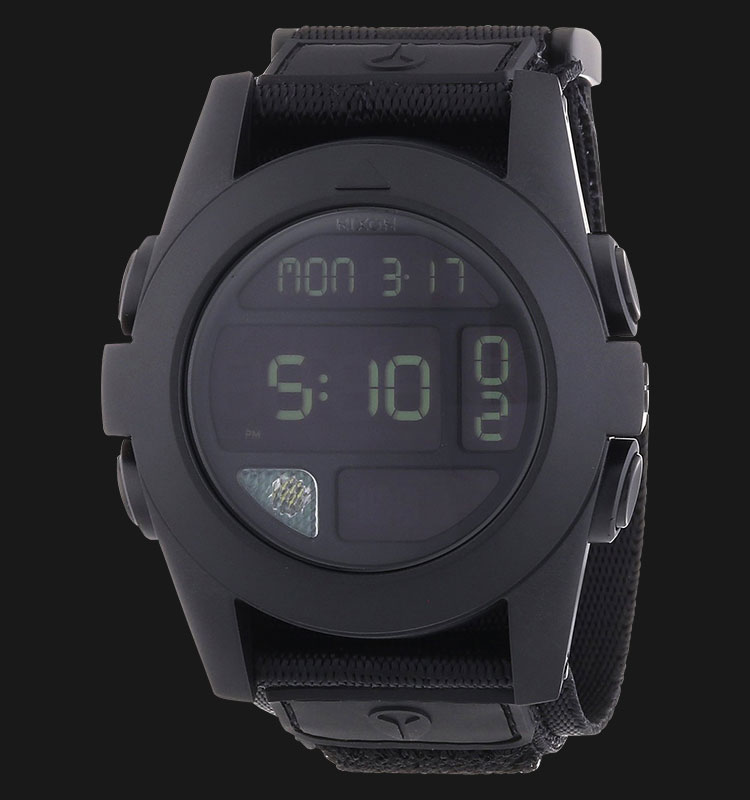 NIXON A489001 Baja All Black Machtwatch