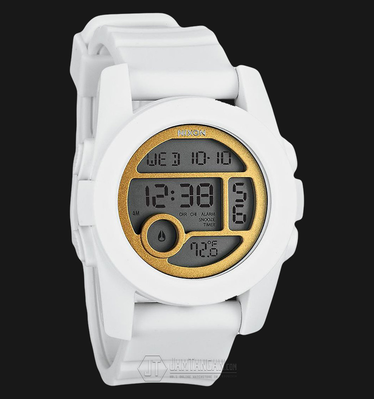 NIXON A4901035 Unit 40 All White/Gold Machtwatch