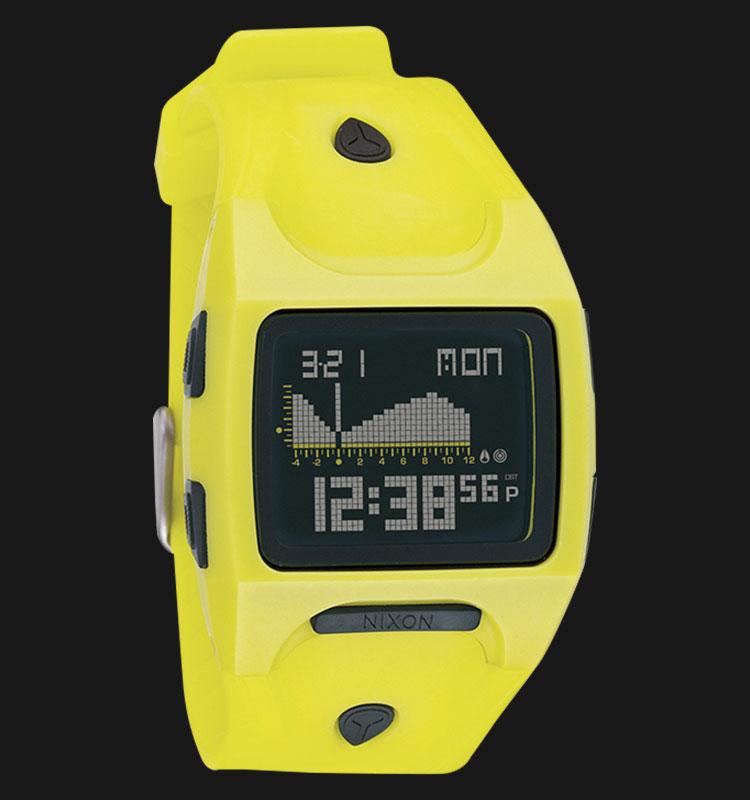NIXON A530964 Lodown Lime Black Machtwatch