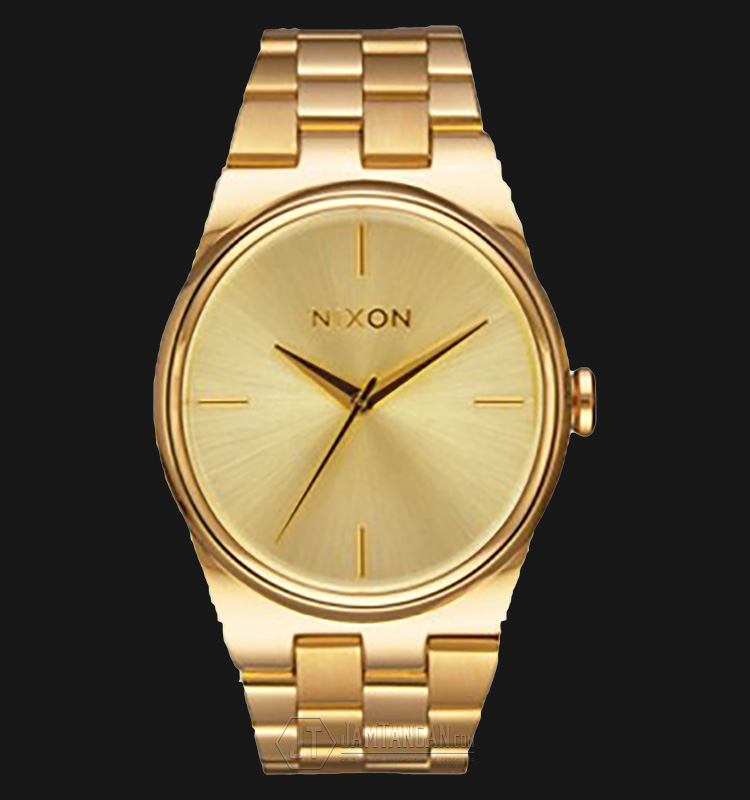 NIXON A953502 The Idol Gold Dial Stainlees Steel Watch Machtwatch