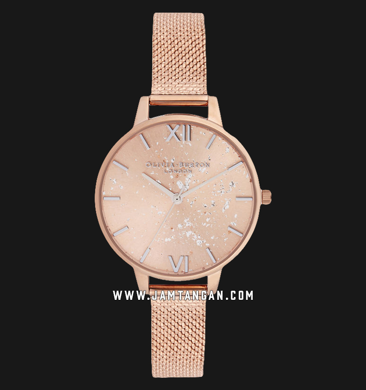 Olivia Burton OB16GD12 Celestial Demi Ladies Rose Gold Dial Rose Gold Stainless Steel Machtwatch