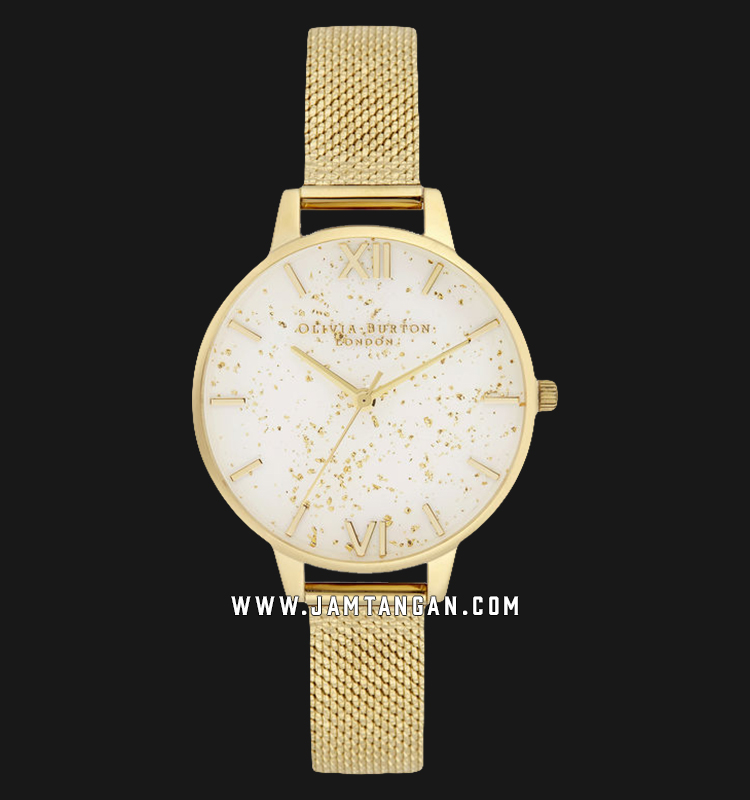 Olivia Burton OB16GD15 Celestial Demi Ladies Dual Tone Dial Gold Stainless Steel Machtwatch