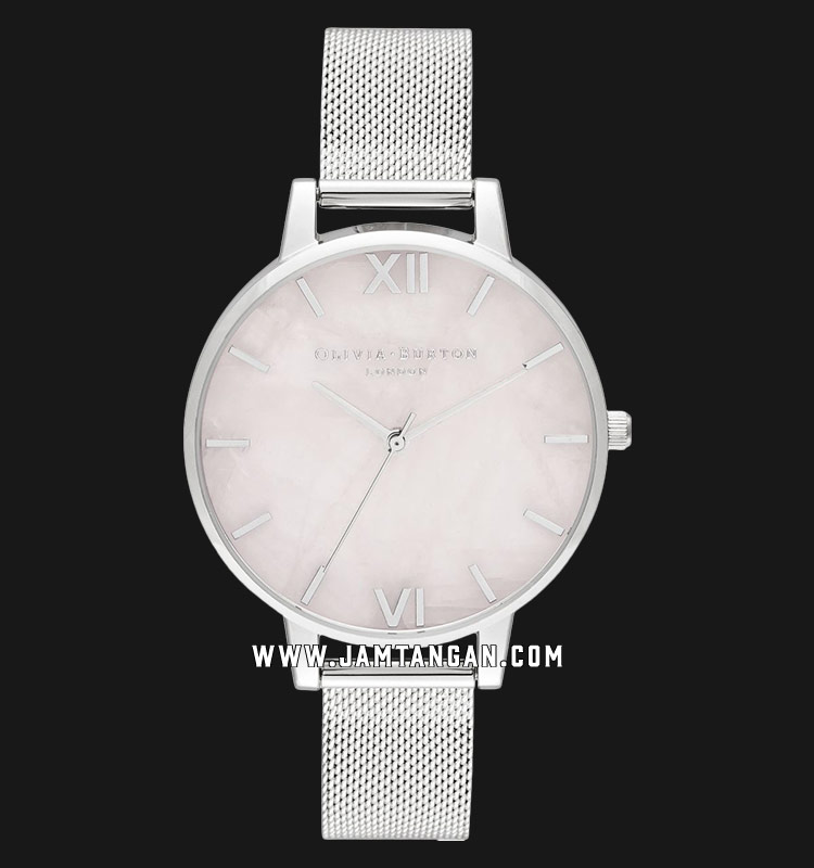 Olivia Burton OB16SP18 Big Dial Silver Dial Stainless Steel Strap Machtwatch