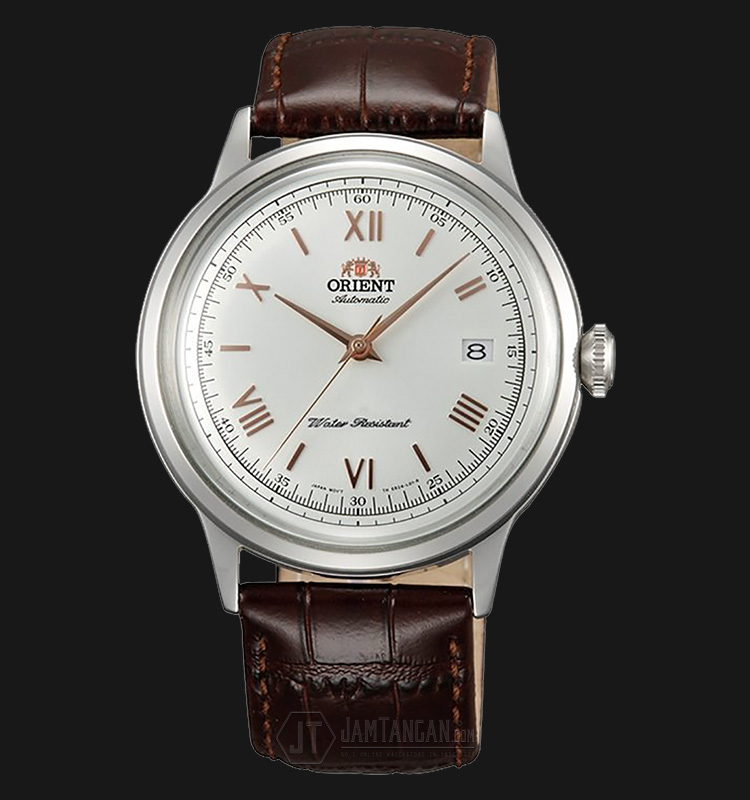 Orient FAC00008W Bambino 4 Classic Automatic Silver Dial Stainless Steel Machtwatch