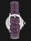 Orient FAC07003W Fashionable Automatic Elegance Ladies White Dial Purple Leather Strap Thumbnail