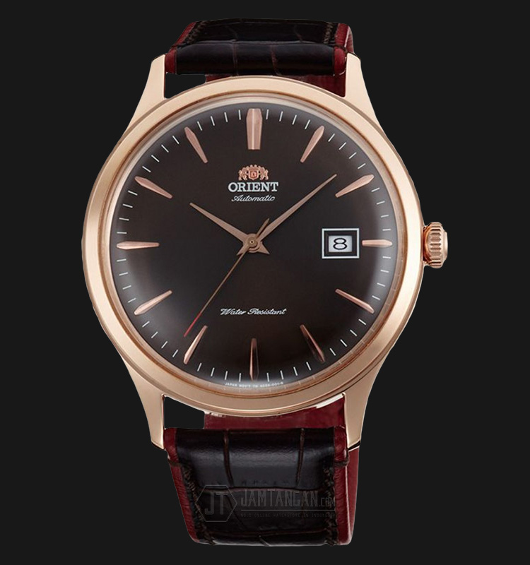 Orient FAC08001T Bambino V4 Classic Automatic Brown dial Brown Leather Strap Machtwatch