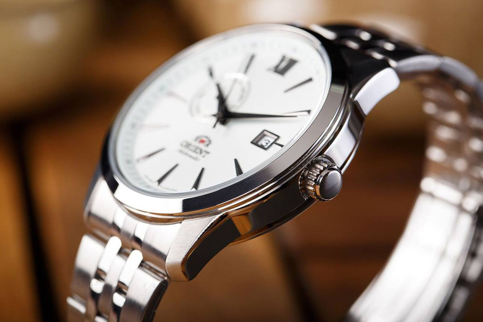 Orient Classic Automatic FAL00003W Men Silver Dial Stainless Steel Machtwatch