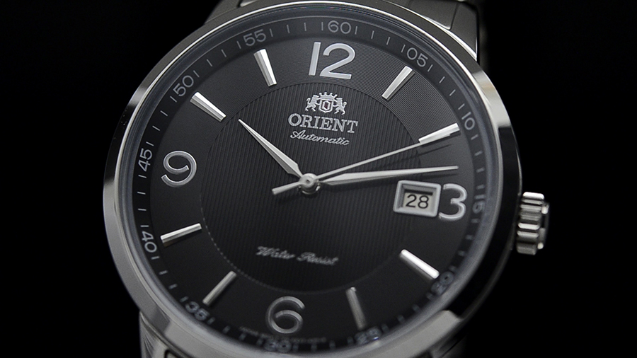 Orient FER2700BB Automatic Classic Symphony Black Dial Stainless Steel Watch Machtwatch