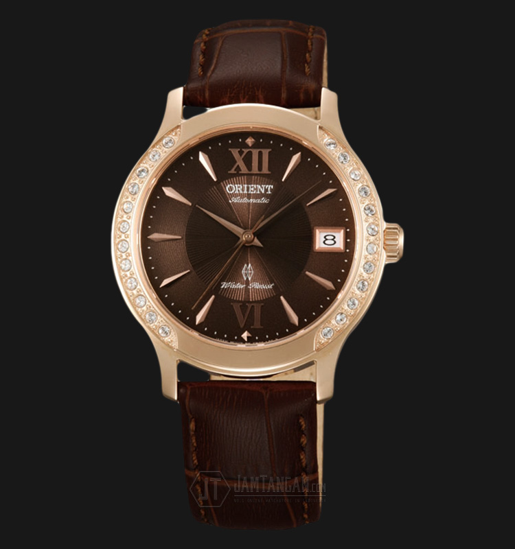 Orient FER2E001T Automatic Brown dial Brown Leather Strap Machtwatch