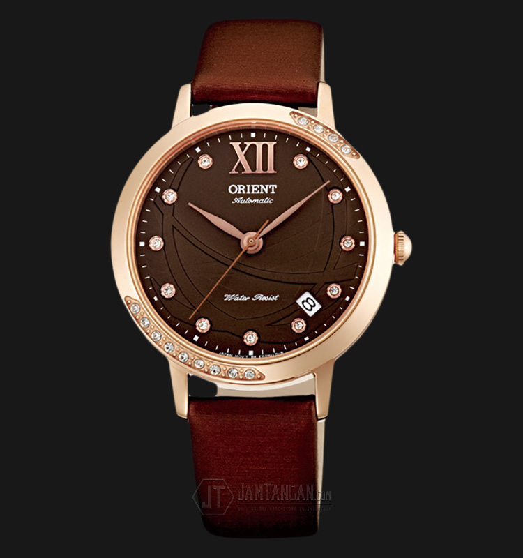 Orient FER2H002T Automatic Brown dial Brown Leather Strap Machtwatch