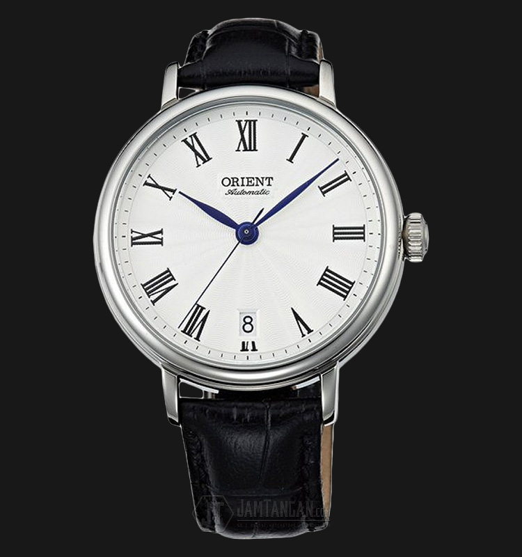 Orient Soma FER2K004W Automatic White dial Black Leather Strap Machtwatch