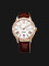 Orient Automatic FET0Y002W Crystal Bezel White dial Leather Strap Thumbnail