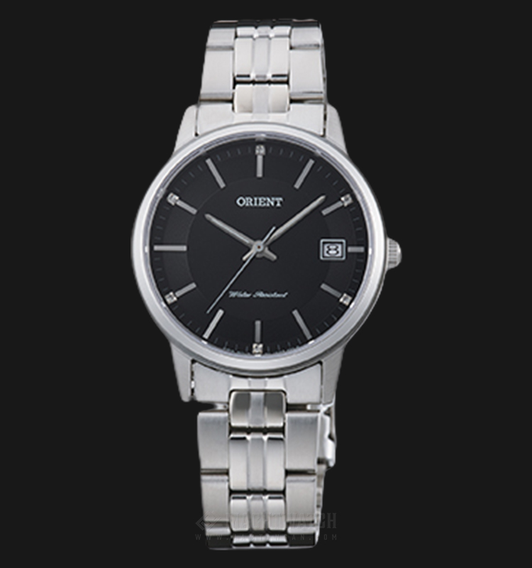Orient Classic FUNG7003B Ladies Black Dial Stainless Steel Strap Machtwatch