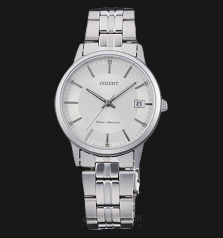 Orient Classic FUNG7003W Ladies Silver Dial Stainless Steel Strap Machtwatch