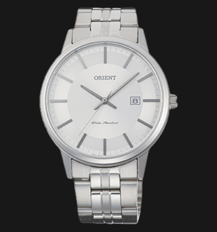 Orient Classic FUNG8003W Men Silver Dial Stainless Steel Strap Machtwatch