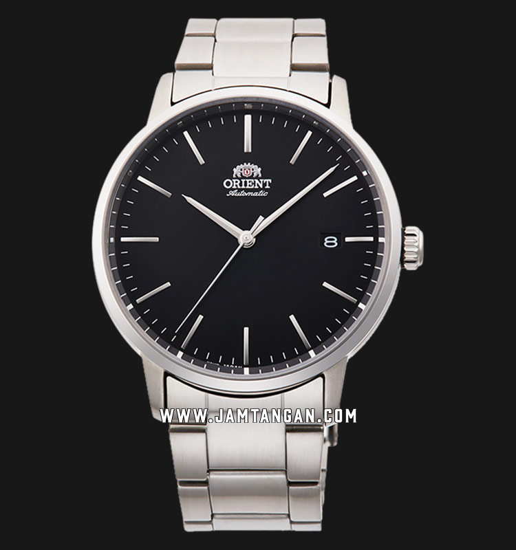 Orient Classic RA-AC0E01B Automatic Men Black Dial Stainless Steel Strap Machtwatch