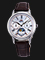 Orient Classic Sun & Moon RA-KA0005A Ladies White Mother of Pearl Dial Brown Leather Strap Thumbnail