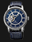Orient Star RE-HH0002L Mechanical Men Blue Dial Blue Leather Strap Thumbnail