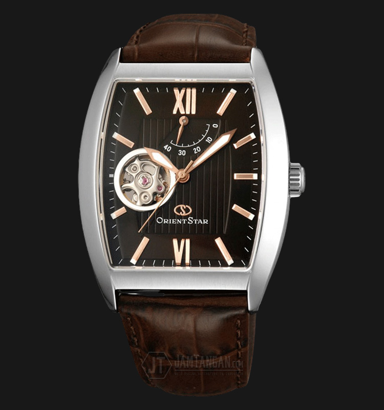 Orient Star SDAAA002T Automatic Brown dial Brown Leather Strap Machtwatch