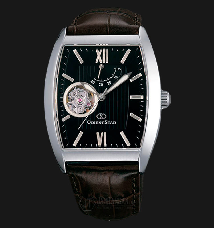 Orient Star SDAAA003B Automatic Black dial Brown Leather Strap Machtwatch