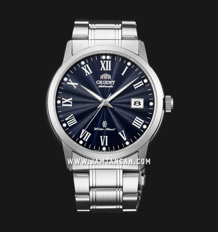 Orient SER1T002D Automatic Men Blue Sunray Dial Stainless Steel Strap Machtwatch