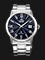 Orient SER1T002D Automatic Men Blue Sunray Dial Stainless Steel Strap Thumbnail