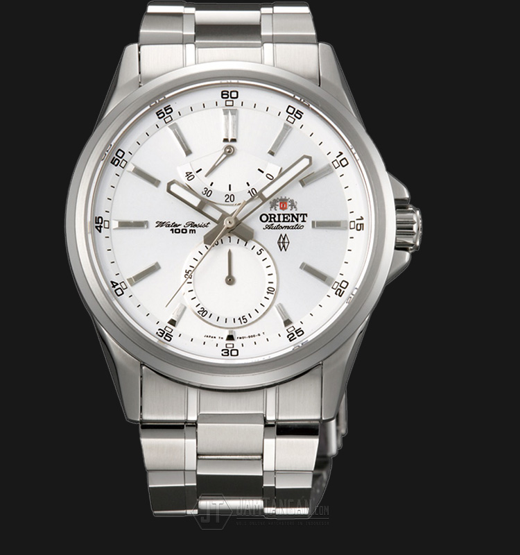 Orient SFM01002W Automatic Conductor White Dial Stainless Steel Machtwatch