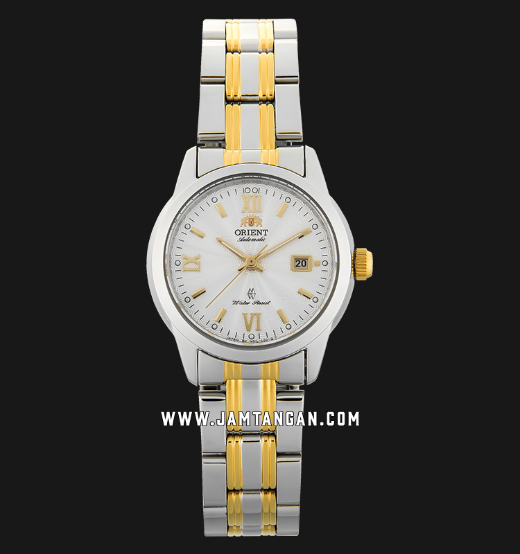 Orient SNR1L001W Classic Automatic Ladies Silver Dial Dual Tone Stainless Steel Machtwatch