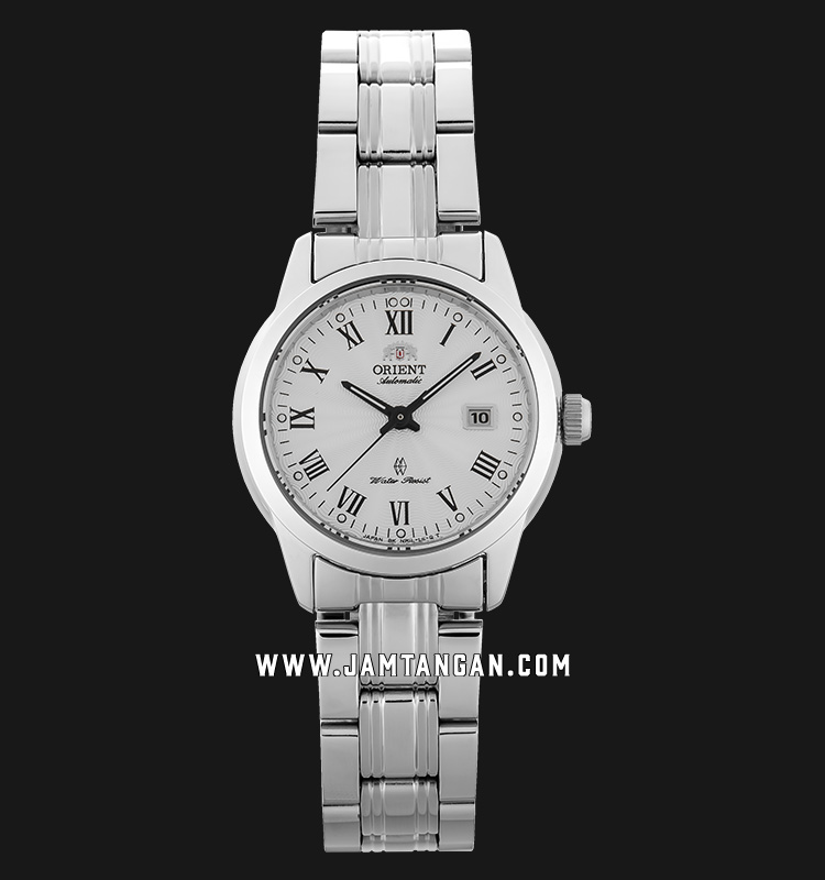 Orient SNR1L002W Classic Automatic Ladies Silver Dial Stainless Steel Machtwatch