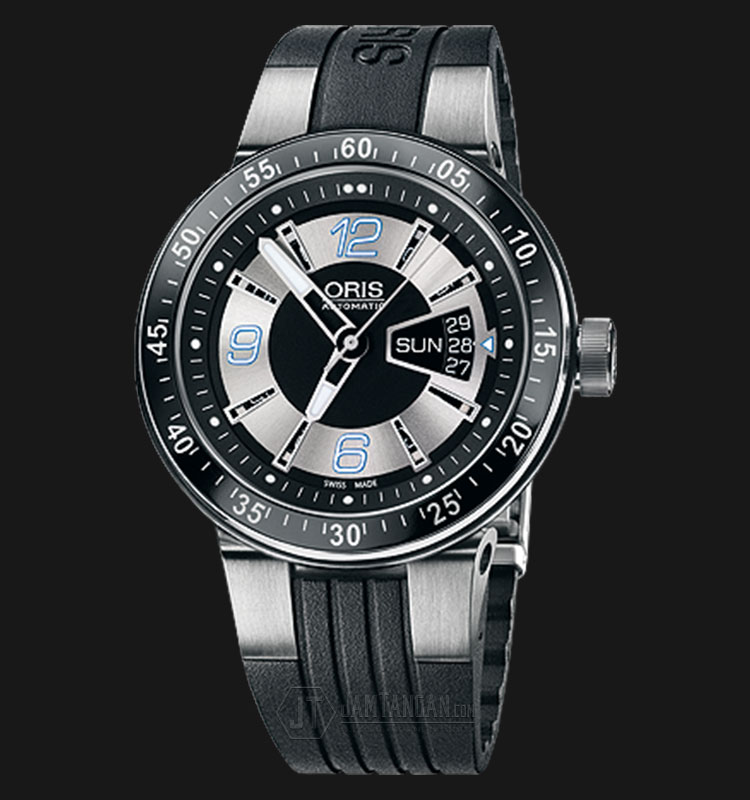 Oris WilliamsF1 Team Day Date 2008 Rubber Strap 635 7613 4174 RS 4 24 44 Machtwatch