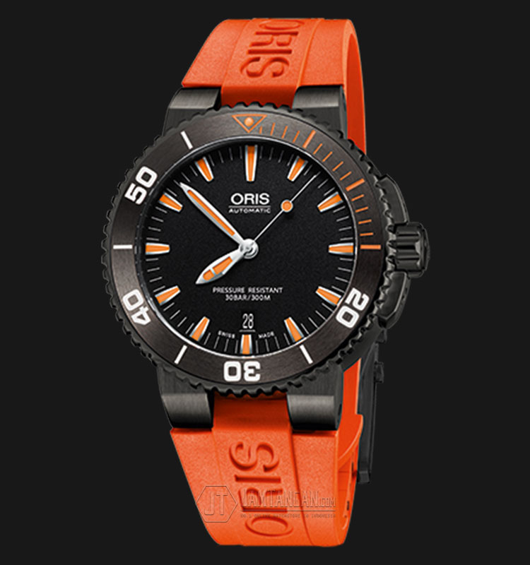 Oris Aquis Date Rubber Strap 733 7653 4259 RS OR 4 26 32GEB Machtwatch